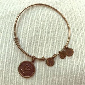 Alex and Ani Bracelet, Initial L